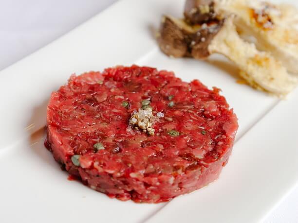 牛肉のタルタル