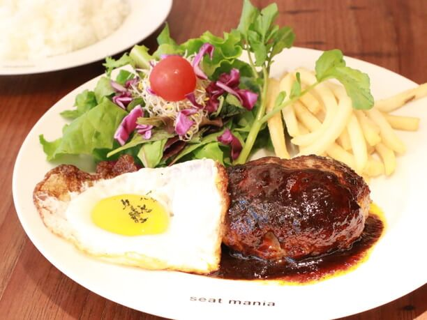 シートマニアの料理
