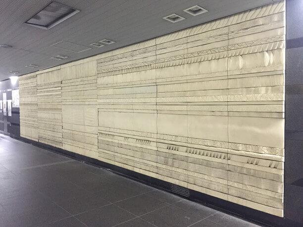 大門駅のパブリックアート