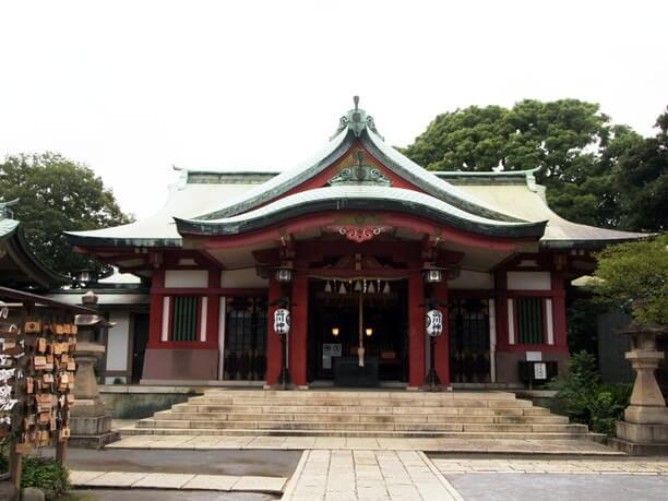 品川神社本宮
