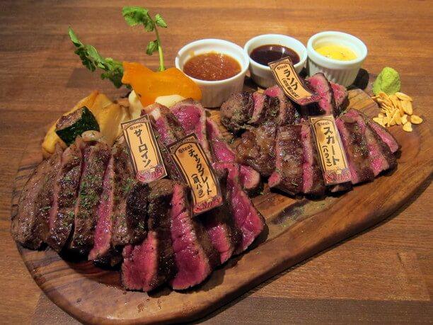 熟成馬肉のステーキ