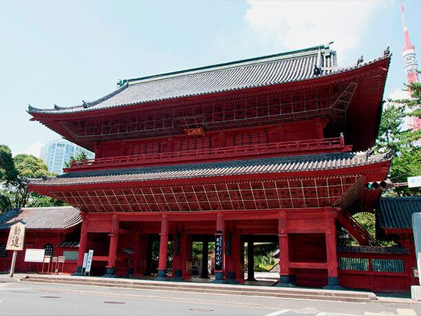 600年の歴史を持つ増上寺