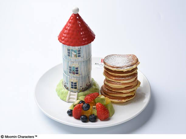 ムーミンハウスパンケーキ
