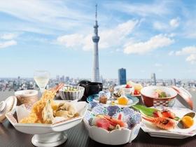 スカイツリー(R)ビューレストラン&バー簾(れん)