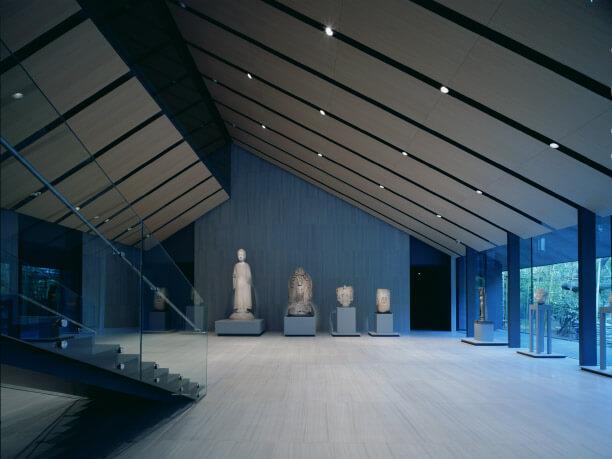 根津美術館 エントランスホール