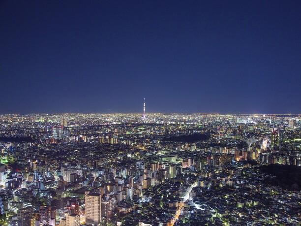 SKY CIRCUS サンシャイン60展望台から見る夜景