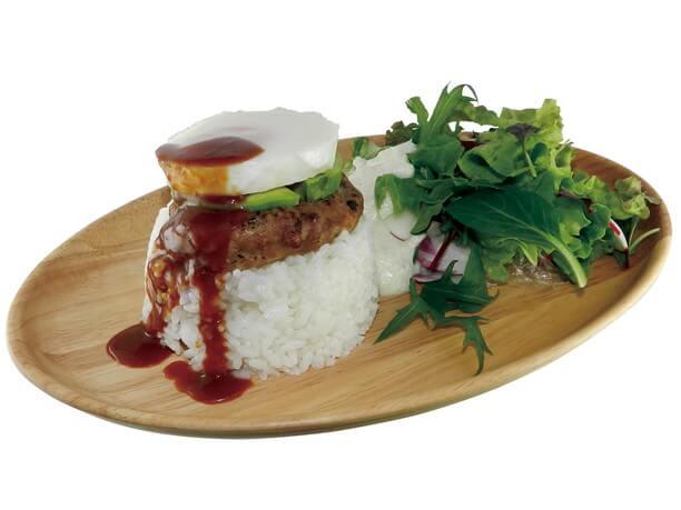 Cafe Quu Quu Quuの料理