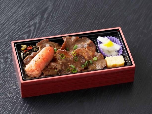 福岡で人気のご当地空弁「明太牛タン丼」