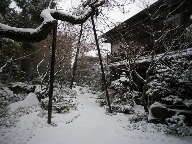 厳冬の雪景色