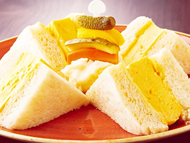 厚焼きたまごサンドイッチ