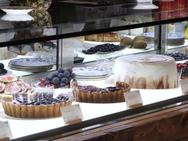 カフェタイムにいただけるケーキ