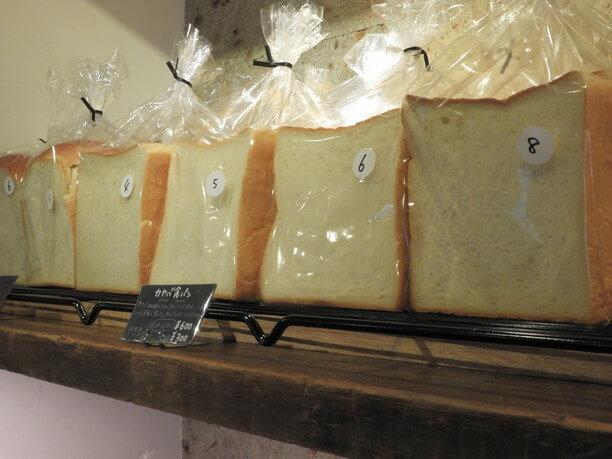サンドに使われている「カヤバ食パン」