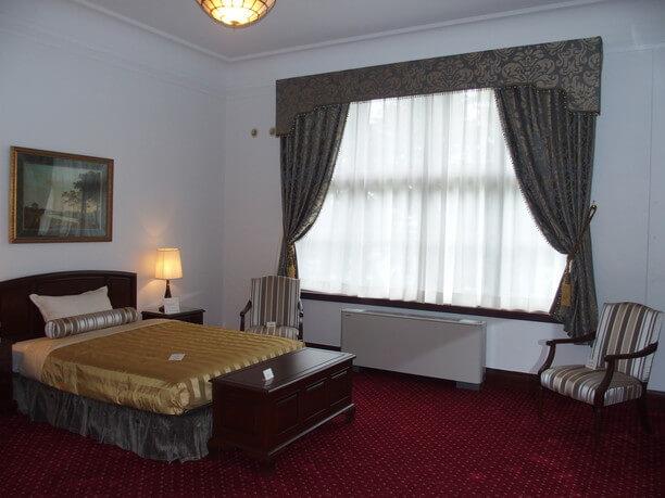 イギリス館寝室