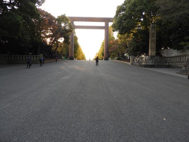 靖国神社の大鳥居